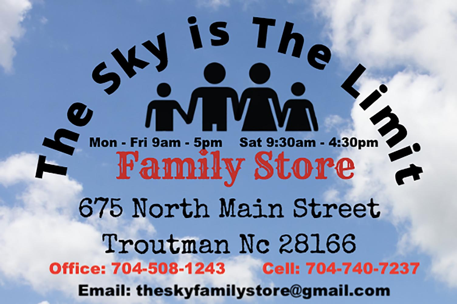 The Sky is the Limit Family Store